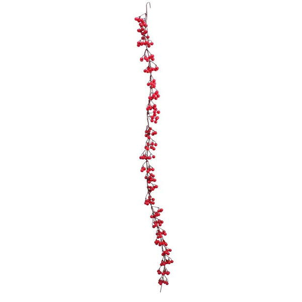 Red Berry Garland (6ft)  Garland Hello Party UK - Hello Party