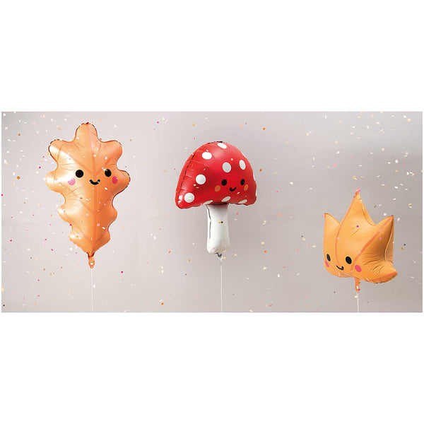 Cute Autumn Foil Party Balloons