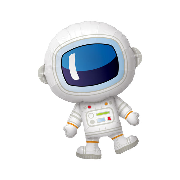 Adorable Astronaut Foil Balloon  Balloons qualatex - Hello Party