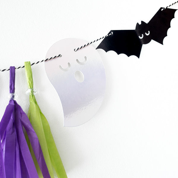 Boo! Halloween Letter Banner  Letter Banner Hello Party Essentials - Hello Party