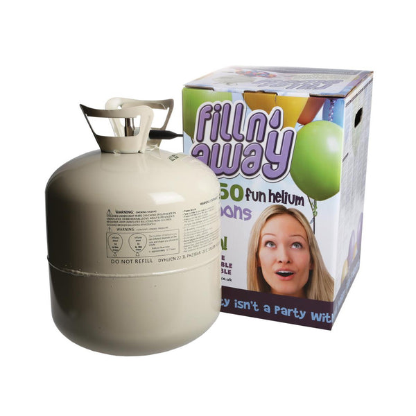 Large Disposable Helium Tank (F50)  Helium Tank Hello Party - Hello Party