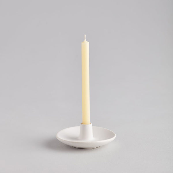 Matt White Mini Candle Holder | Candlestick | Stylish Party Tableware