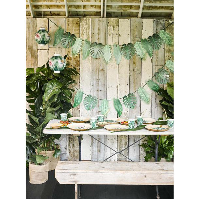 Eco-Friendly Palm Leaf Plates | Sustainable | Stylish Modern Party Talking Tables