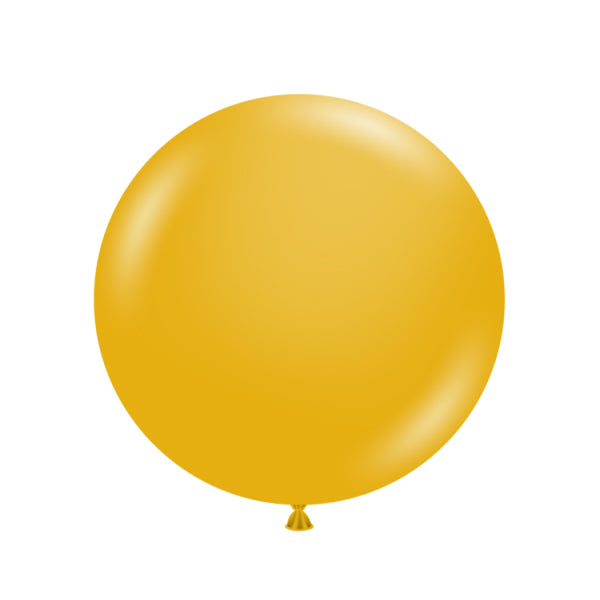"Big & Round Mustard 24"" Balloon"