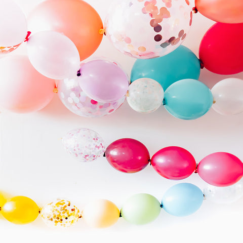 Mini Linkit Balloons - Create your own garland