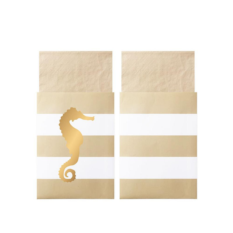 Preppy Seahorse Napkins In Bags  Napkins Delight Department - Hello Party