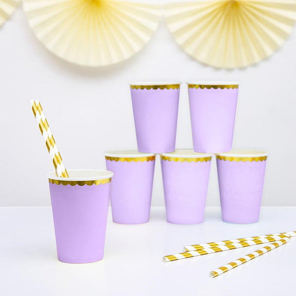 Pretty Pastels Lilac Cups