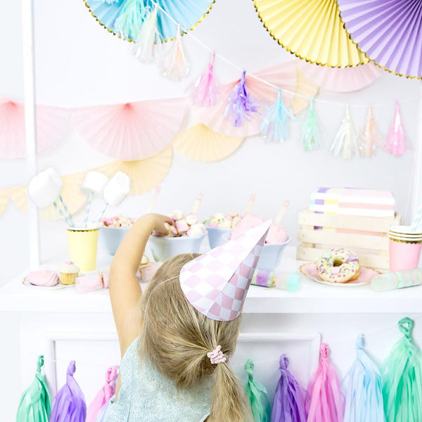 Mini Pastel Tassel garland  Garland Party Deco - Hello Party