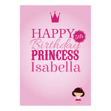 Fairy Princess Poster <br/> with a space for your name or message
