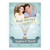 Vintage Balloon Poster <br/> with a space for 1 photo and your name or message