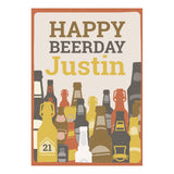 Bottles of Beer Banner <br/> with a space for your name or message - Hello Party - All you need to make your party perfect!