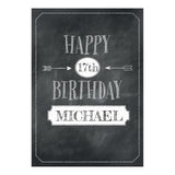 Cheeky Chalk Banner <br/> with a space for your name or message - Hello Party - All you need to make your party perfect!
