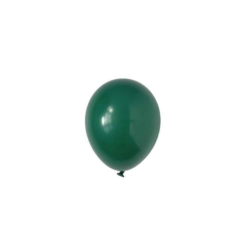 Mini Evergreen Party Latex Balloons | Biodegradable | Modern & Stylish Party Supplies Tuftex Uk