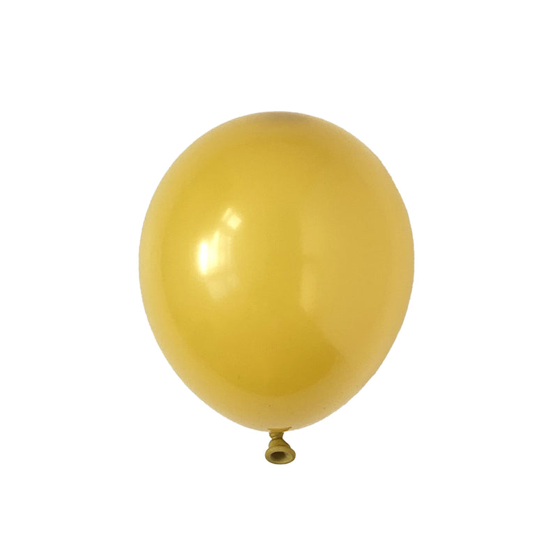 Mustard Party Balloons | Biodegradable | Modern & Stylish Party Supplies Tuftex UK
