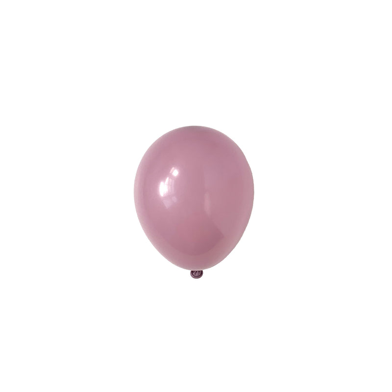 Mini Canyon Rose Dusky Pink Party Latex Balloons | Biodegradable | Stylish Party Supplies