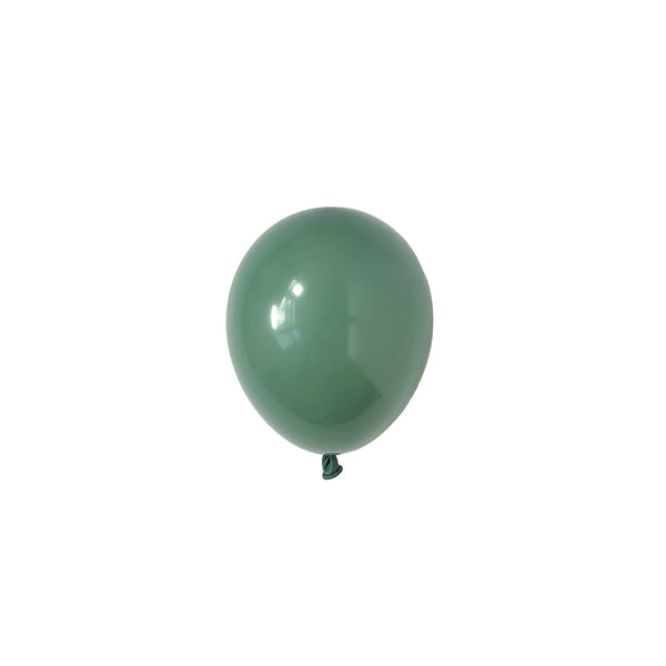 Mini Willow Green Party Latex Balloons | Biodegradable | Modern & Stylish Party Supplies Tuftex Uk