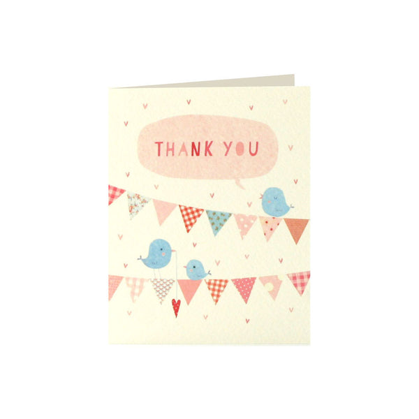 ink Bunting Thank You Cards (Pack of 5)  Thank You Cards James Ellis - Hello Party