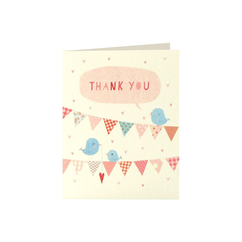 ink Bunting Thank You Cards (Pack of 5)