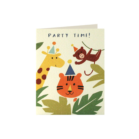 Jungle Invitation (Pack of 5)