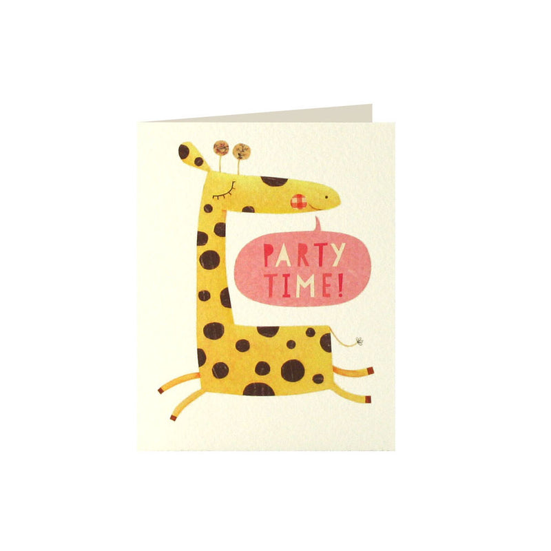 Giraffe Invitation (Pack of 5)  Invitations James Ellis - Hello Party