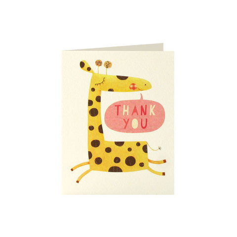 Giraffe Thank You Cards (Pack of 5)