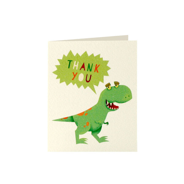 Dinosaur Thank You Cards (Pack of 5)  Thank You Cards James Ellis - Hello Party