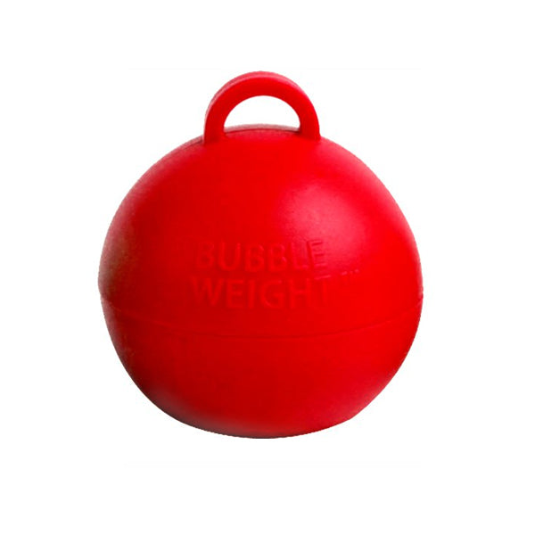35g Red Bubble Weight  Balloon Weight Hello Party Essentials - Hello Party