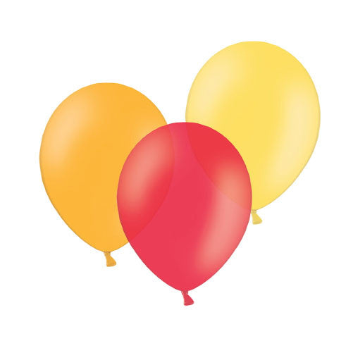 Summer Sunset Mix Balloons  Latex Balloon Collections Hello Party Essentials - Hello Party