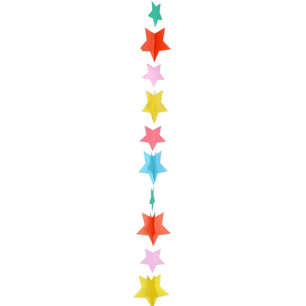 Rainbow Stars Balloon Tail