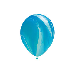 Blue Marble Balloons  Marble Balloons Hello Party Essentials - Hello Party