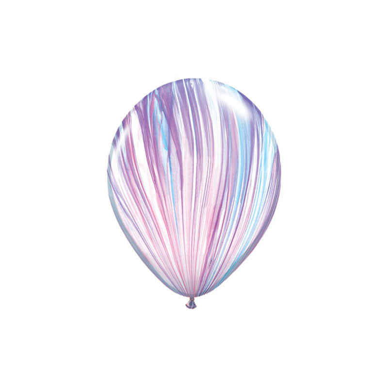 Unicorn Marble Balloons (pack of 3)