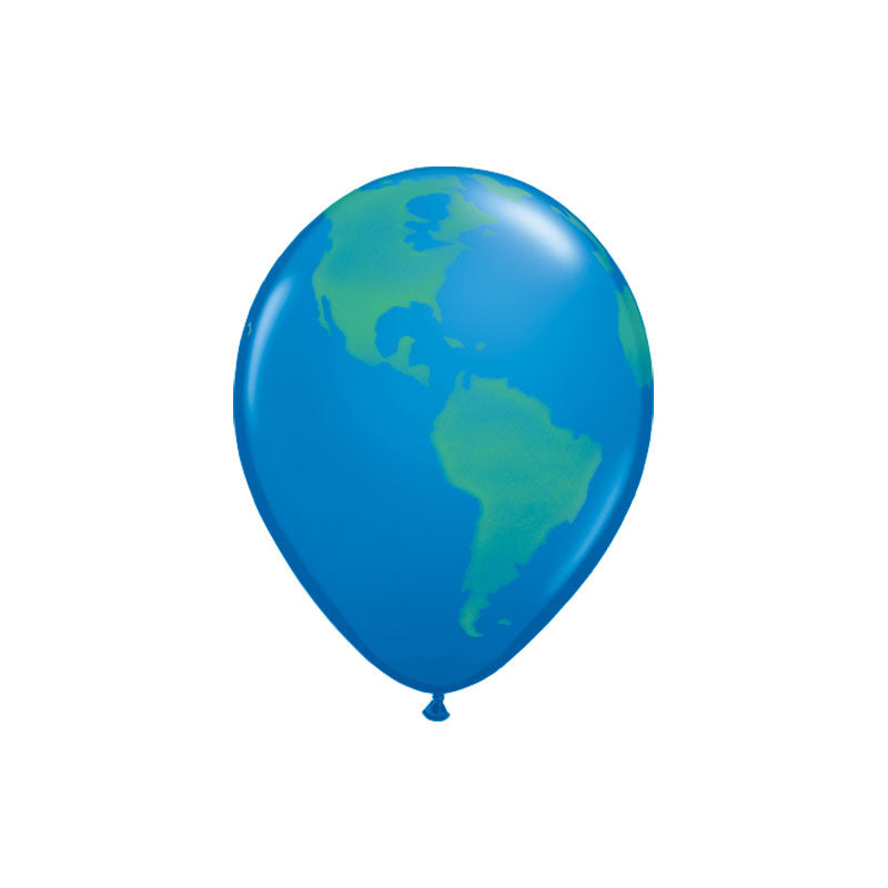 Planet Earth Balloons  Printed Balloons Hello Party Essentials - Hello Party