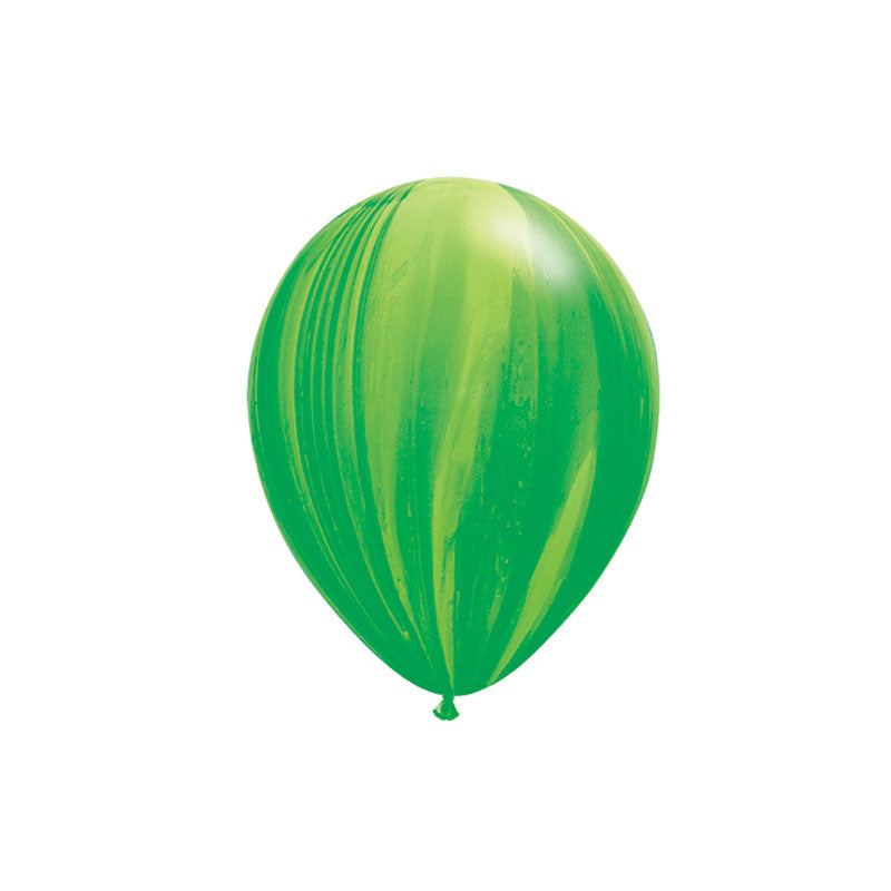 Green Marble Balloons
