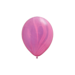 Pink & Violet Marble Balloons  Marble Balloons Hello Party Essentials - Hello Party
