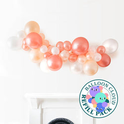 Everything's Rosy Gold Balloon Cloud Refill Pack Hello Party DIY arch kits