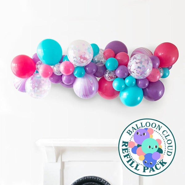 Mesmerising Mermaid Balloon Cloud Refill Pack Hello Party DIY arch kits