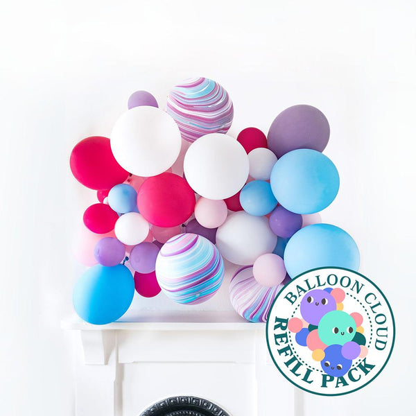 Magical Unicorn Balloon Cloud Refill Pack Hello Party DIY arch kits
