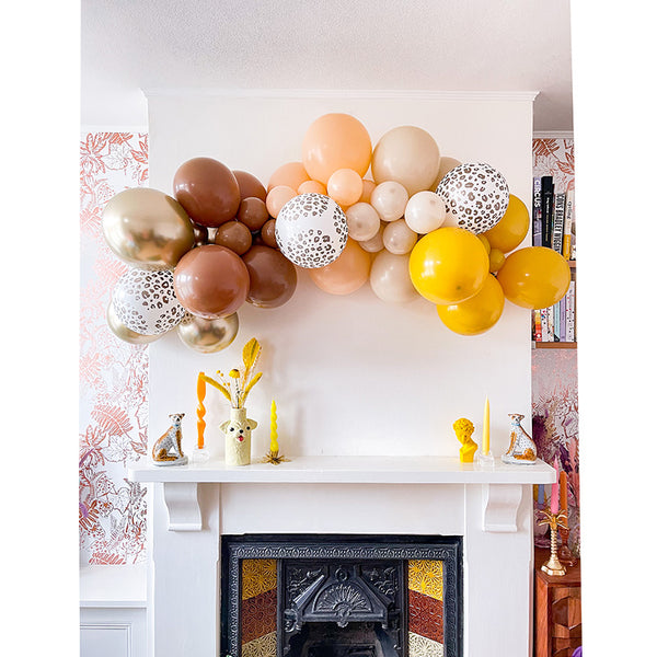 Leopard is a Neutral Balloon Cloud | Luxury DIY Balloon Garland Kit