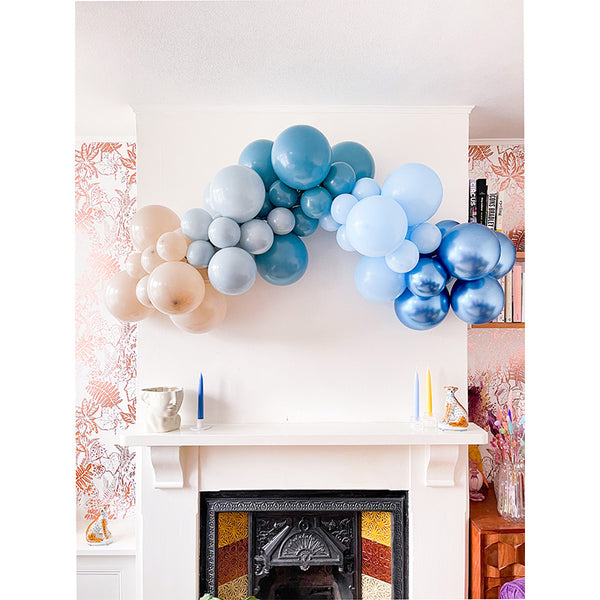 Boho Blue Balloon Cloud Kit