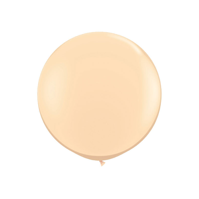 "Giant Round Blush Balloon 36""  Giant Round Latex Balloon Hello Party Essentials - Hello Party"
