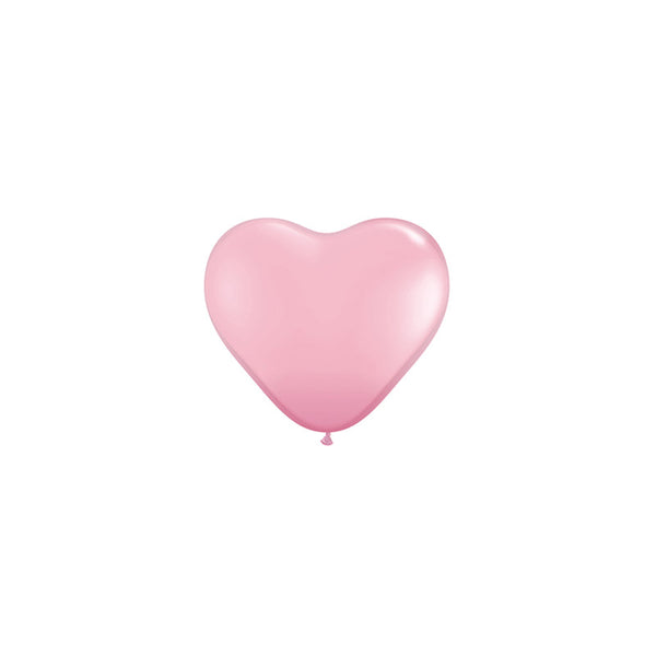 Mini Pink Heart Balloons (pack of 5)