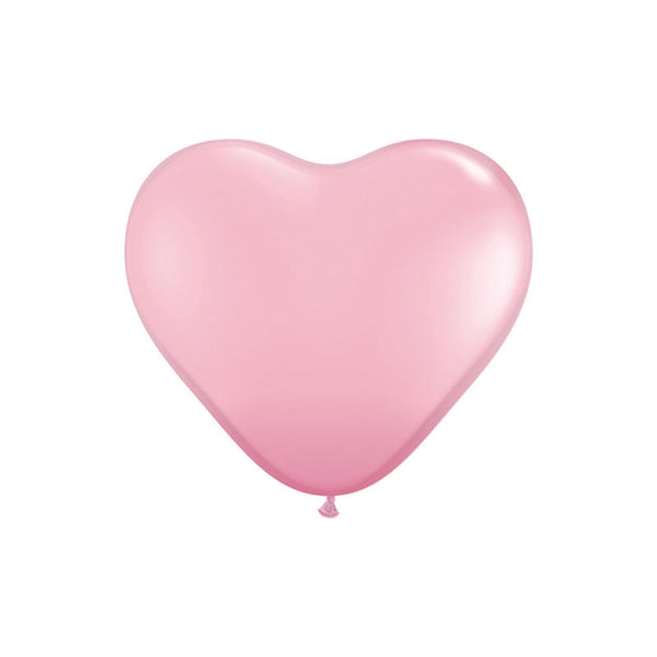 Pink Heart Shaped Balloons