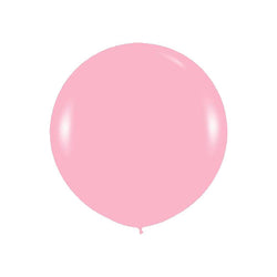 "Giant round 36"" Balloon Bubblegum Pink  Giant Round Latex Balloon Hello Party - All you need to make your party perfect! - Hello Party"