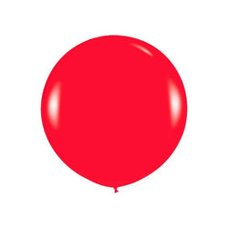 "Giant round 36"" Balloon Red  Giant Round Latex Balloon Hello Party - All you need to make your party perfect! - Hello Party"