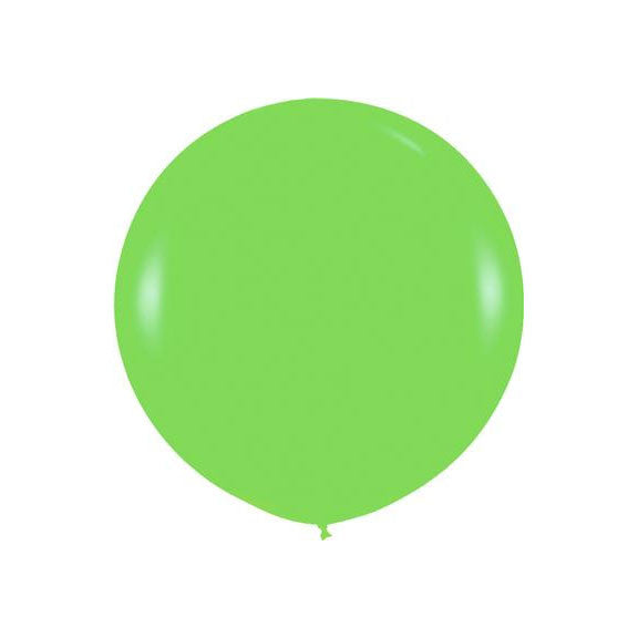 "Giant round 36"" Balloon Lime  Giant Round Latex Balloon Hello Party - All you need to make your party perfect! - Hello Party"