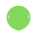 "Giant round 36"" Balloon Lime"