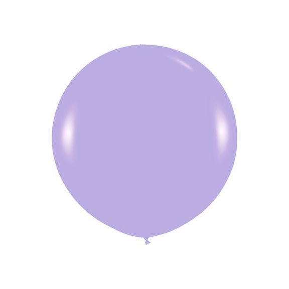 "Giant round 36"" Balloon Lilac"