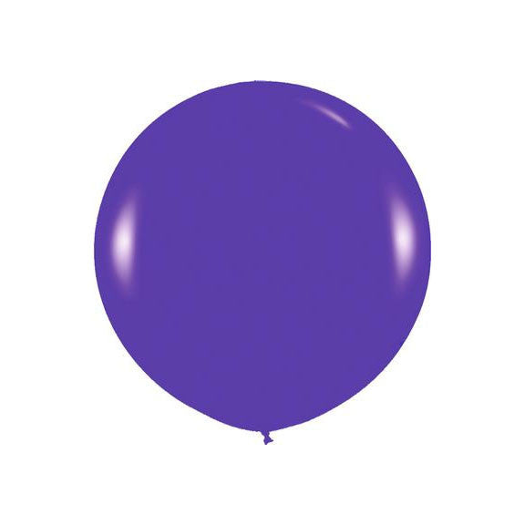 "Giant round 36"" Balloon Violet"