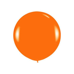 "Giant round 36"" Balloon Orange  Giant Round Latex Balloon Hello Party - All you need to make your party perfect! - Hello Party"