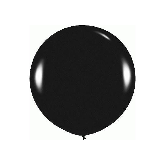 "Giant round 36"" Balloon Black"